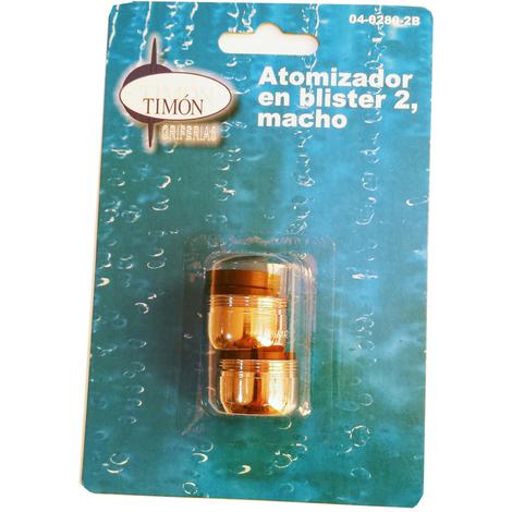 TIMON ATOMIZADOR M-24x100 MACHO SIN ROTULA BL-2 UND.=04-280-2B