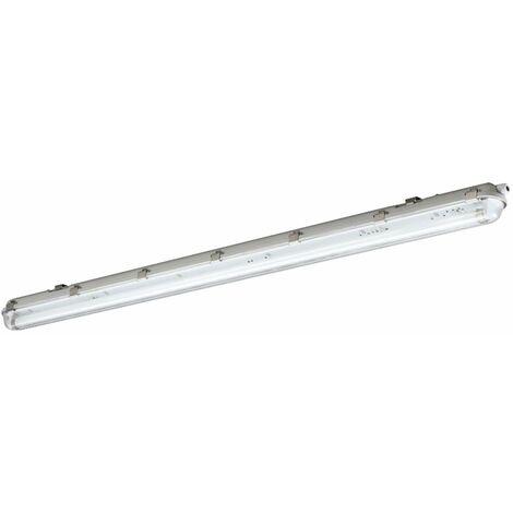 Tinas LED lámpara taller bodega salas de almacenamiento focos habitación húmeda luz de techo blanco neutro ETT 1451620