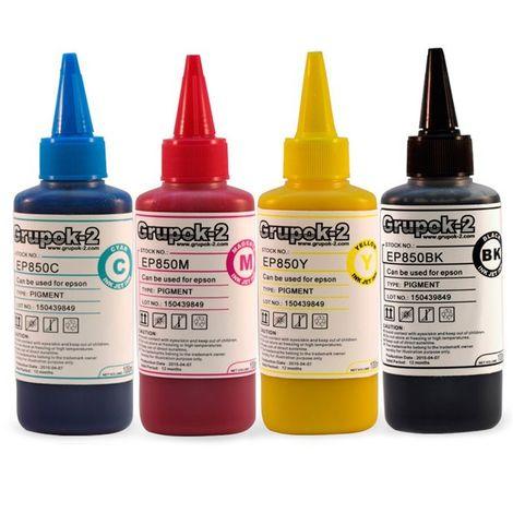 Tinta pigmentada impresoras epson 11 colores 100ml ep9710