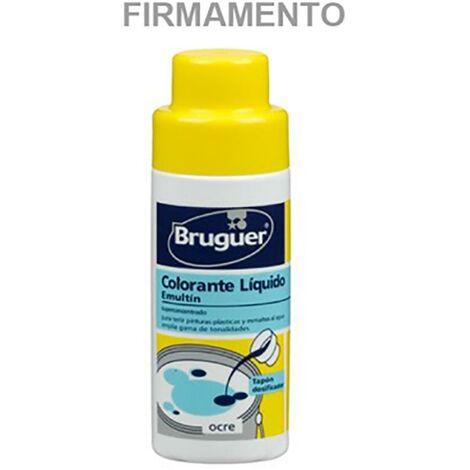 Tinte Concentrado Al Agua 50 Ml Azul Firmamento Emultin Bruguer