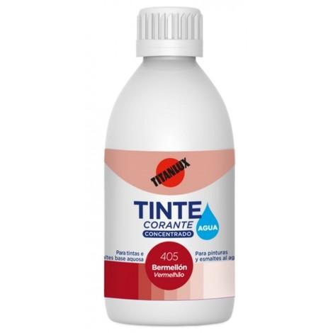 Tinte concentrado al agua 50 ml rojo oxido int/ext titan