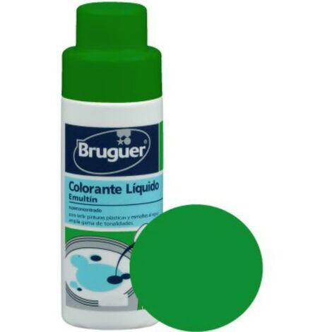 Tinte Concentrado Al Agua 50 Ml Verde Cactus Emultin Bruguer