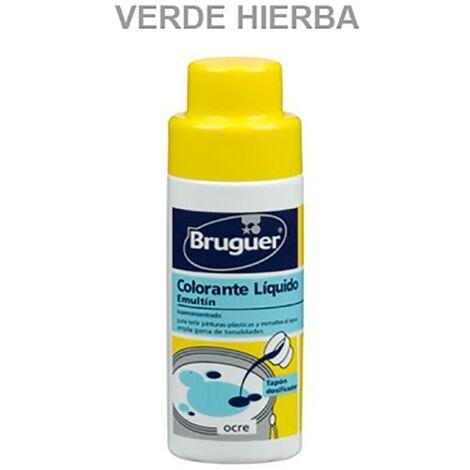 Tinte Concentrado Al Agua 50 Ml Verde Hierba Emultin Bruguer