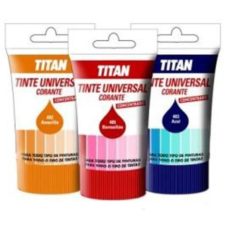 Tinte concentrado universal 50ml Titan