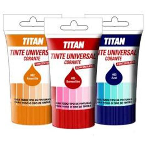 Tinte Universal Azul - TITAN - 089040314 - 250 ML