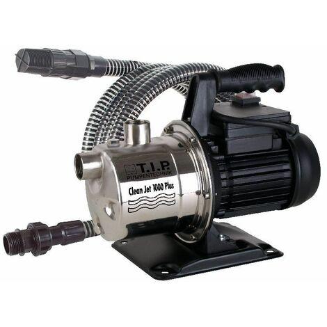 T.I.P. Gartenpumpe Cleanjet 1000 Plus mit Kit max. Fördermenge: 3.300 l/h, 800 W