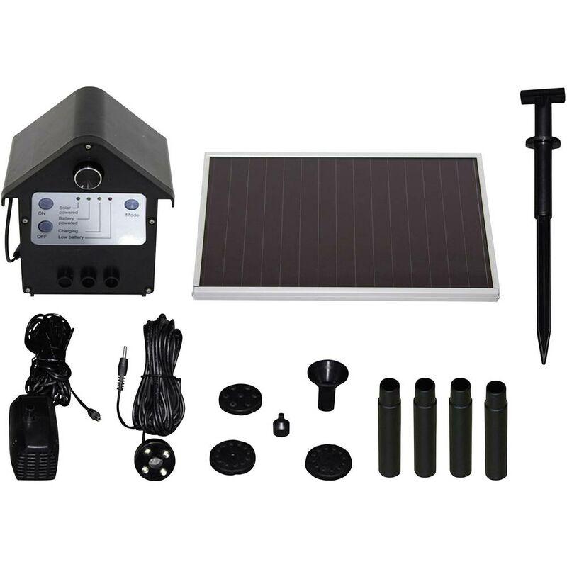 T i p set sps kit pompa solare con batteria tampone