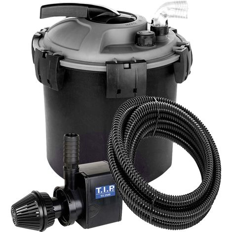 T.I.P. Teichdruckfilter TFP 8000 UV 9 max. Fördermenge: 2.300 l/h, 50 W