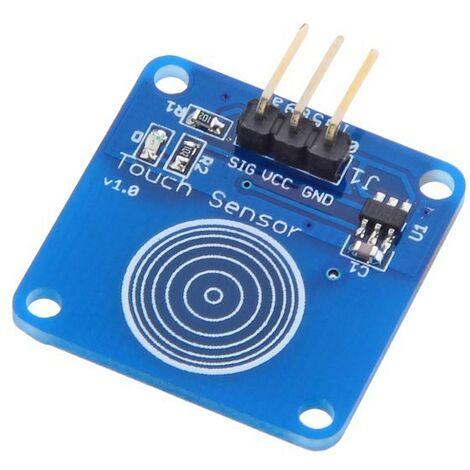 Tipo de trabajo Módulo de sensor táctil capacitivo para Arduino