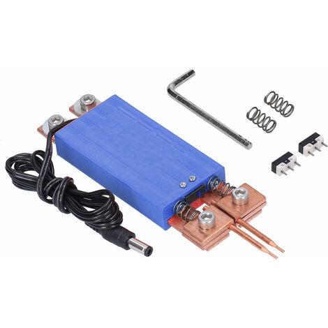Tipo del punto de soldadura integrada pluma, Disparador automatico de soldadura accesorio de la maquina, azul