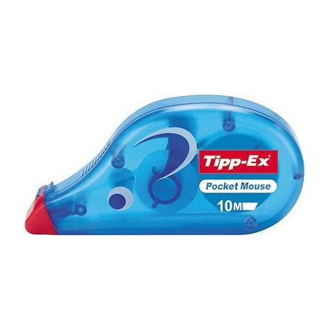 Tipp-Ex Roller correcteur Pocket Mouse 4.2 mm blanc 10 m 1 pc(s) Y29324