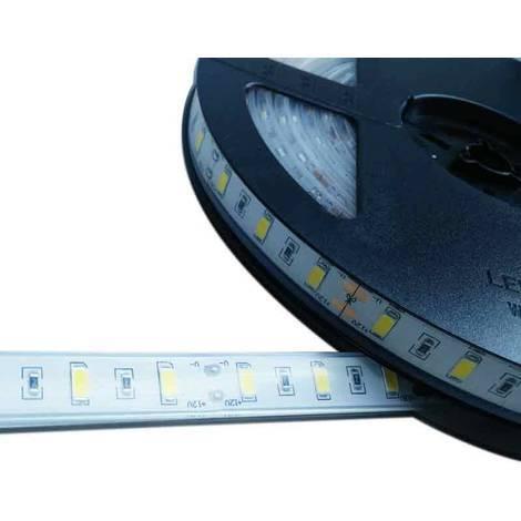Tira de LED 12V-DC 75W 10mm monocolor IP67 (SMD5630 60ch/m) Rollo 5 metros