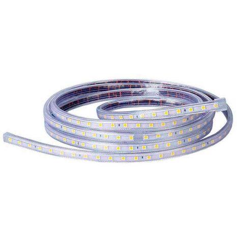 Tira de LED 220VAC SMD5050 14W/m 60LED/m 3000K 1 metro