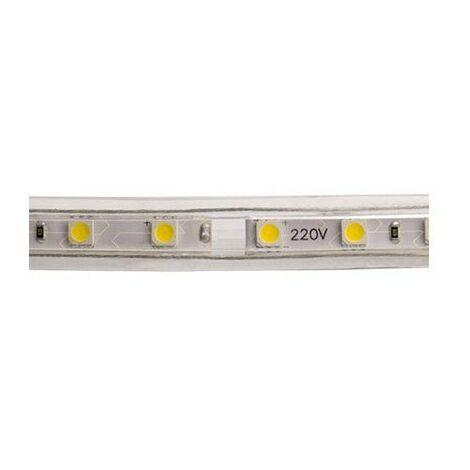 Tira de LED 220VAC SMD5050 14W/m 60LED/m 6000K 1 metro