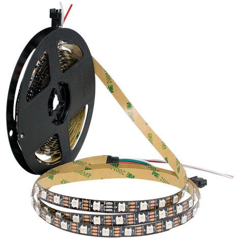 Tira digital rgb programable - 5v - rollo 5m
