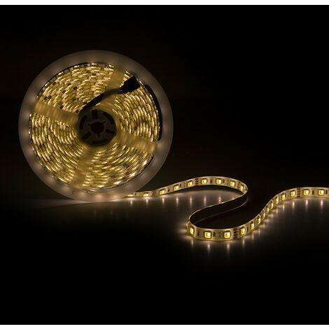 Tira LED 12VDC SMD5050 60LEDs 72W Cálido/Frío IP25 x 5M | Cálido/Frío (CA-5050-12V-CWWW-IP25)