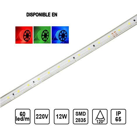 Tira LED 12W 12mm 60 leds /metro SMD2835