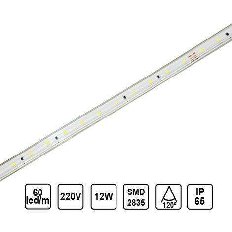 Tira LED 12W 12mm 60 leds /metro UGR
