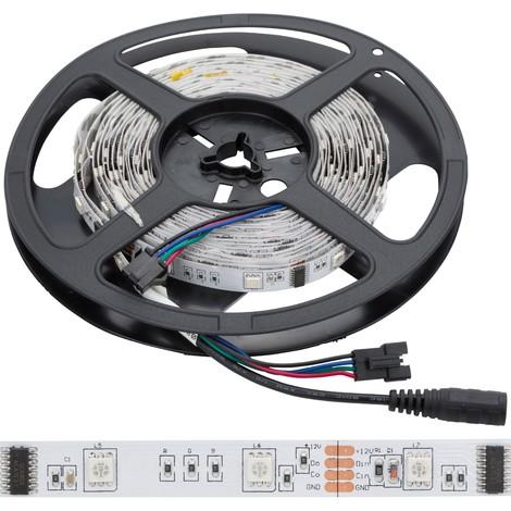 Tira LED 150 LEDs 5M 12VDC SMD5050 Digital RGB GR-LDT-W30DIGRGB | RGB (GR-LDT-W30DIGRGB)