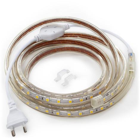 Tira LED 220VAC SMD3528 60 X M 1 M