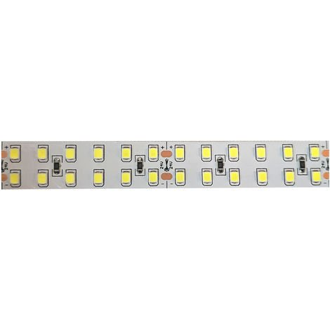 Tira led 24v 2835 ip20 240 ch/m 20w/m 6000k