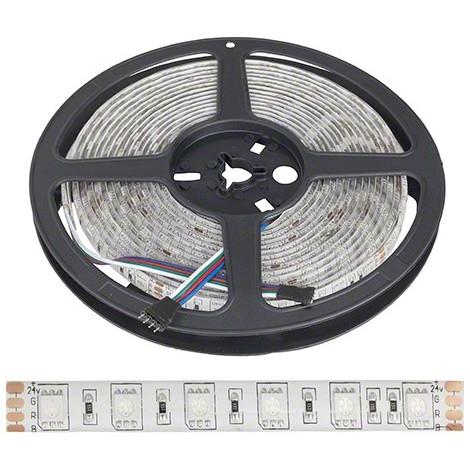 Tira LED 24VDC 300 xsmd 5050 RGB IP65 Exterior x 5M | RGB (PL-219012-24-IP65-RGB)