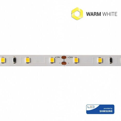 Tira LED 2700K 7,2W/m IP20 24V