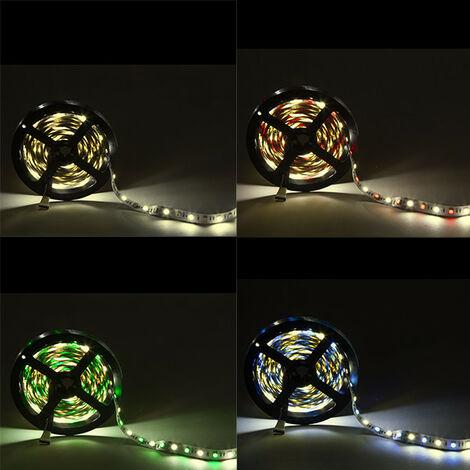 Tira LED 300 LEDs 60W SMD5050 24VDC IP20 RGB+Blanco Cálido x 5M (CA-5050-60-24-IP20-RGB-WW)