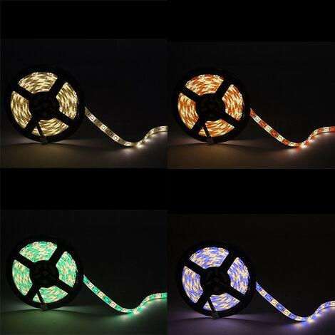 Tira LED 300 LEDs 60W SMD5050 24VDC IP65 RGB+Blanco Cálido x 5M (CA-5050-60-24-IP65-RGB-WW)