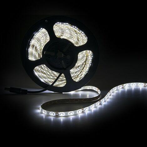 Tira LED 300 X SMD3528 12VDC IP65 x 5M | Blanco Calido (PL219002)