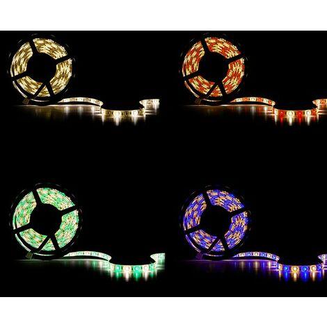 Tira LED 360 X SMD 5050 5M RGB-Blanco Cálido IP65 | RGB-Cálido (CA-RGBWW-5050-IP65)