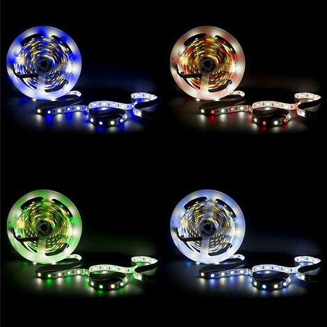 Tira LED 360 X SMD 5050 5M RGB-Blanco Frío IP25 | RGB-Frío (CA-RGBW-5050-IP25)