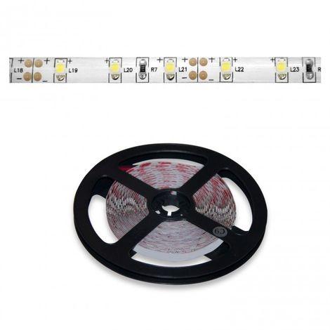 Tira LED 5 metros 12V 5W por metro 60LED luz blanca