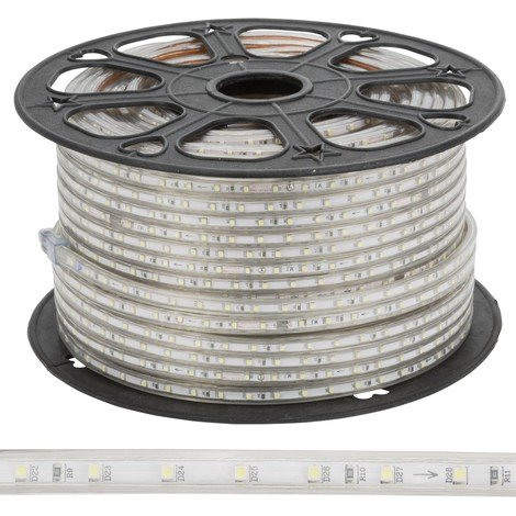 Tira LED 60 /M 220VAC SMD3528 IP65 x 100M