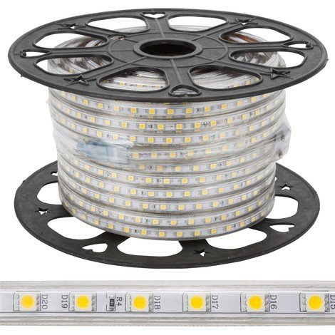 Tira LED 60 /M 220VAC SMD5050 IP65 x 50M