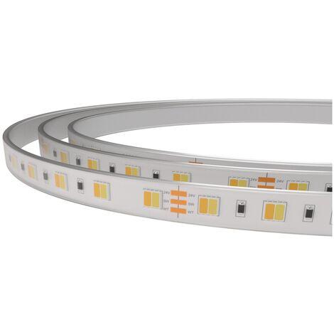 Tira led CCT 24V 8,6W/m IP67 ligth stripe bicolor