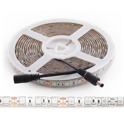 Tira LED Cultivo SMD5050 - IP65 x 5M (CA-GR-5050-IP65)