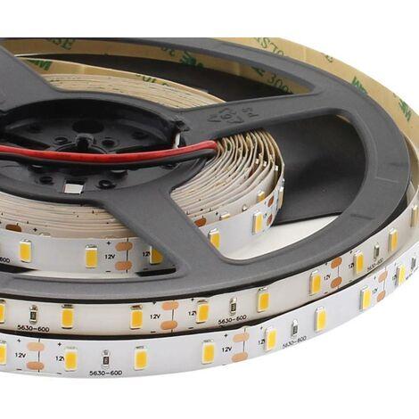 Tira LED HQ Monocolor SMD5630, ChipLed Samsung, DC12V, 5m (60Led/m) - IP68 nano waterpoof