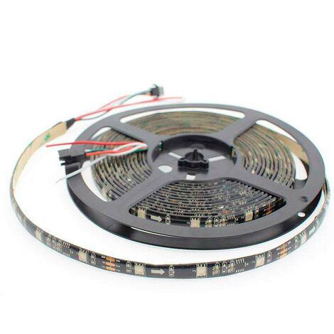 Tira LED IC Digital 2811, RGBX, DC12V, 5m, (30 Led/m) IP20, RGB - RGB