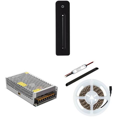 Tira LED Monocolor con Mando Inalámbrico y Alimentación Blanco Cálido 2800K - 3200K - Blanco Cálido 2800K - 3200K