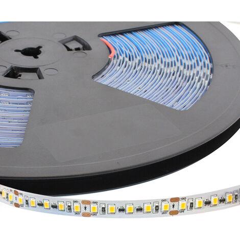 Tira LED Monocolor EPISTAR SMD2835, DC24V, 20 metros (120Led/m), 180W, IP20