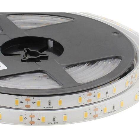 Tira LED Monocolor HQ SMD5630, ChipLed Samsung DC12V, 5m (60Led/m) - IP68