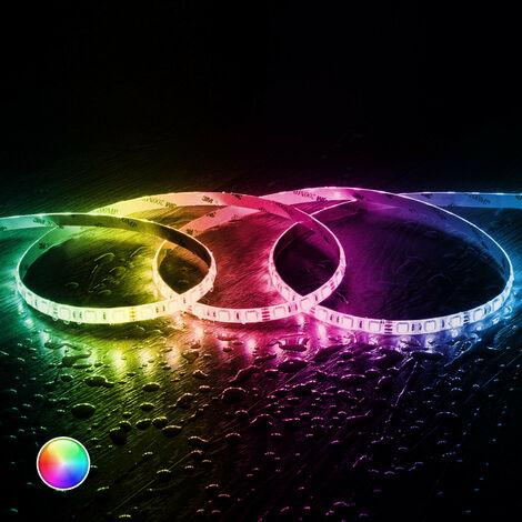 Tira LED RGB 24V DC 60LED/m 5m IP65 RGB - RGB