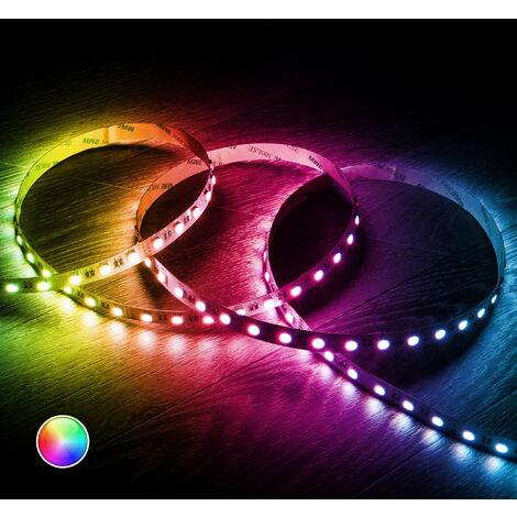 Tira LED RGBW 24V DC 60LED/m 5m IP20 RGBW - RGBW