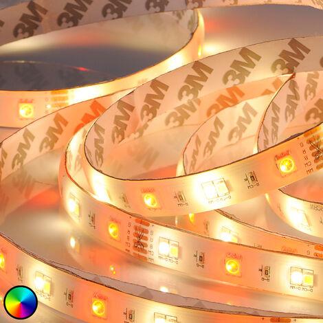 Tira LED RGBW Neila con mando a distancia, 500 cm