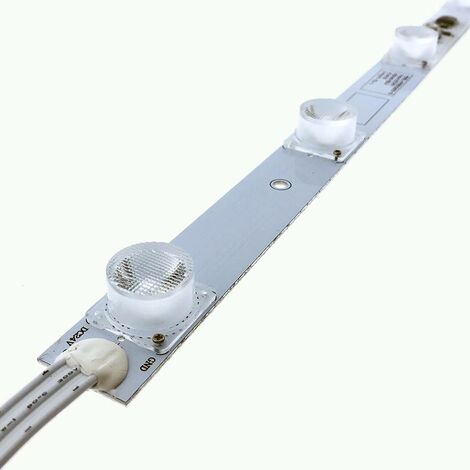 Tira LED rígida 50cm 15W 24V-DC para retro iluminación de cajas de luz