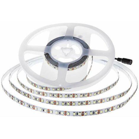 Tira led SMD3528 7.2W/m 120 leds/m 12V IP20 5 metros