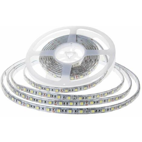 Tira led SMD5050 10.8W/m IP65 12V 60 leds/m 5 metros