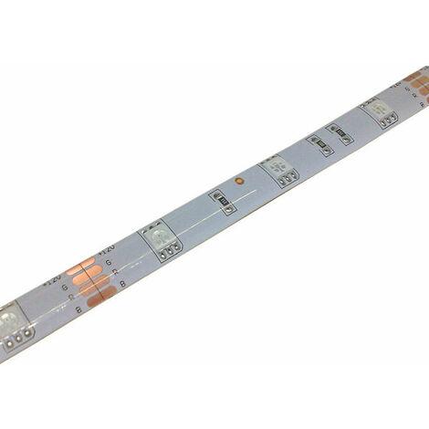 Tira LED SMD5050 30 LED RGB IP65