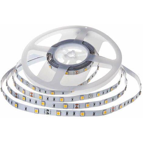 Tira led SMD5050 4.8W/m 30 leds/m 12V IP20 5 metros